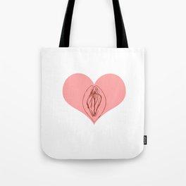 I Heart Vagine Tote Bag