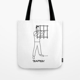 Trapped! Tote Bag