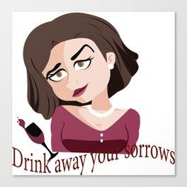 drink away Canvas Print