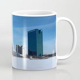 Toledo Skyline in the Winter I Coffee Mug