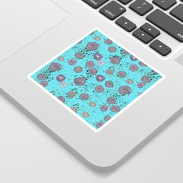 Falling blossoms Sticker