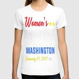 Women's March On Washington T-Shirt1 T-shirt
