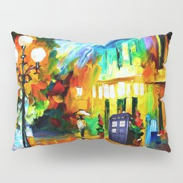 Tardis Art And The Light Street Pillow Sham
