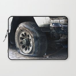 Flat Tire! Laptop Sleeve