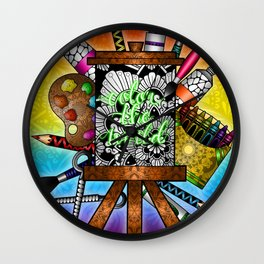 Color the World Wall Clock