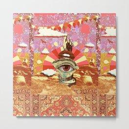 AFTERNOON PSYCHEDELIA (REDUX) Metal Print