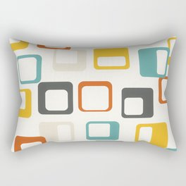 Mid Century Modern Geometric Art #society6 #buyart Rectangular Pillow