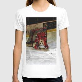 Life Goals - Ice Hockey Goalie Motivational Art T-shirt