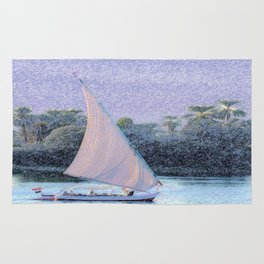 River Nile Ride Rug