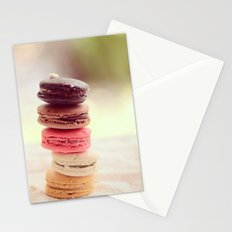 Macarons Love Stationery Cards