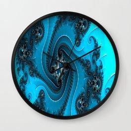 Gearwheel Fractals Wall Clock