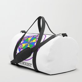 COEXIST Duffle Bag
