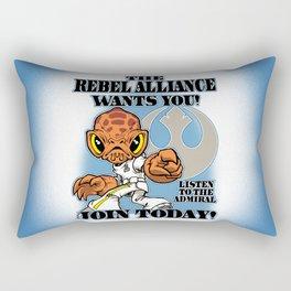 The ADMIRAL Needs YOU! Rectangular Pillow
