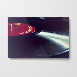 The Breaks Metal Print