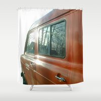 ford Shower Curtains featuring Thats Ford by Ars Infinity - @ Roland Zulehner
