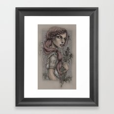 Thistles Framed Art Print