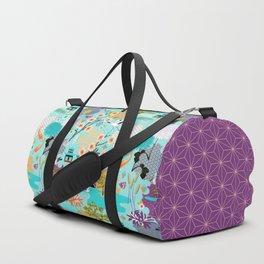 Japanese Garden Duffle Bag