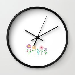 Being Part of Sisterhood Means Never being Alone T-Shirt Wall Clock
