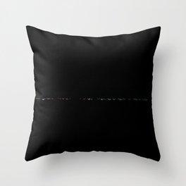 Under Lowway Night III Throw Pillow