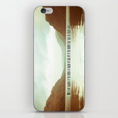 The moments that take our breath away.  iPhone & iPod Skin