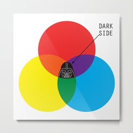 Dark Side Metal Print