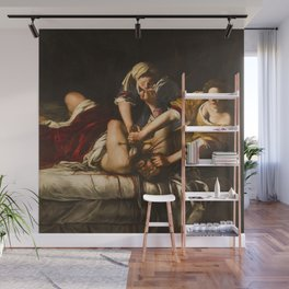 Artemisia Gentileschi's Judith Slaying Holofernes Wall Mural