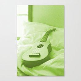 Uke Spring Green Canvas Print