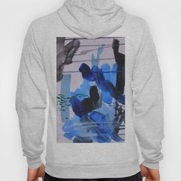 Abstract Blue Hoody