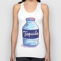 tequila Tank Tops featuring Tequila by - OP -
