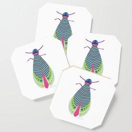 Jazzy Moth Coaster