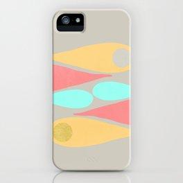 Vintage minimal improvisation 5 iPhone Case