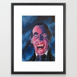 Hammer Films Dracula Christopher Lee Framed Art Print