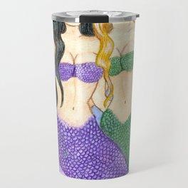 Besties Mermaids Travel Mug