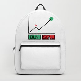 Buy Sell Trading Chart Backpack