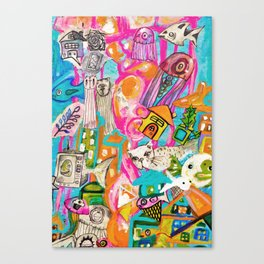 Emotion Ocean 1 Canvas Print