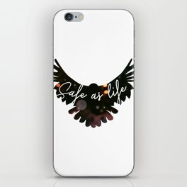 Raven Cycle Safe As Life iPhone Skin