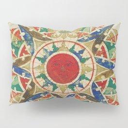Vintage Compass Rose Diagram (1502) Pillow Sham