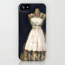 Little White Dress iPhone Case