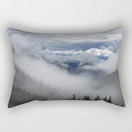 Travell The Valley of Mist Rectangular Pillow