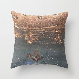 Defrost Throw Pillow