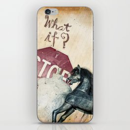 If What? iPhone Skin