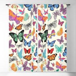Butterflies Aesthetic Retro Vintage Vsco Blackout Curtain