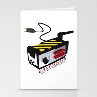 ghostbusters Stationery Cards featuring Ghostbusters by JAGraphic