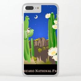 Saguaro National Park Clear iPhone Case