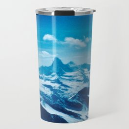 Winter Wonderland up in the Mountains #1 #art #society6 Travel Mug