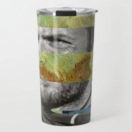Van Gogh's Self Portrait & Clint Eastwood Travel Mug