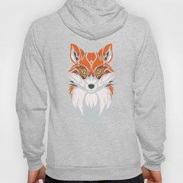 Tribal Fox - Wild Animal Art - Exotic Animals Hoody