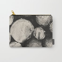 NOIR ABSTRACT / Timber Carry-All Pouch