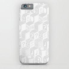 SUPER MARIO BLOCK-OUT! (White Edition) Slim Case iPhone 6s