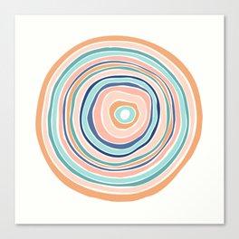 Rainbow (Infinite Loop) Canvas Print
